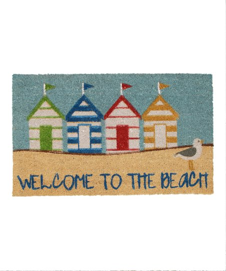'Welcome to the Beach' Doormat