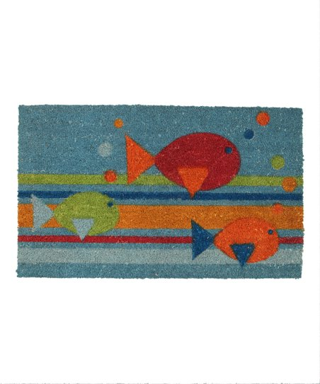 School of Fish Doormat