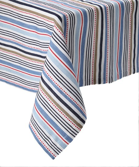 Boat Stripe Tablecloth