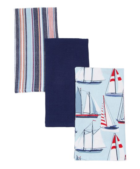 Nautical Dish Towel Set