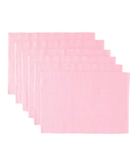 Candy Pink Place Mat - Set of Six