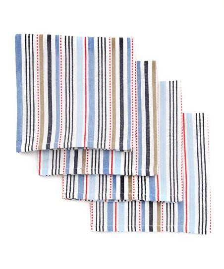 Boat Stripe Napkin - Set of Four