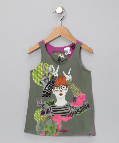 Bubblegum Portaferrisa Tank - Toddler & Girls