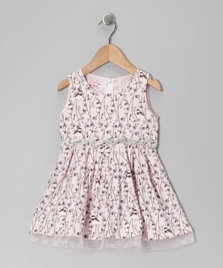 Pink Sparrow Dress - Toddler & Girls