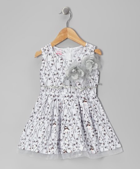Gray Sparrow Dress - Toddler & Girls