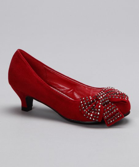 Red Candy Kitten Heel