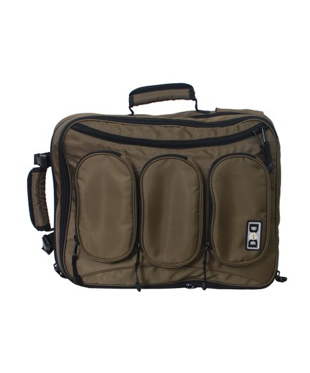 Olive Convertible Diaper Dude Bag