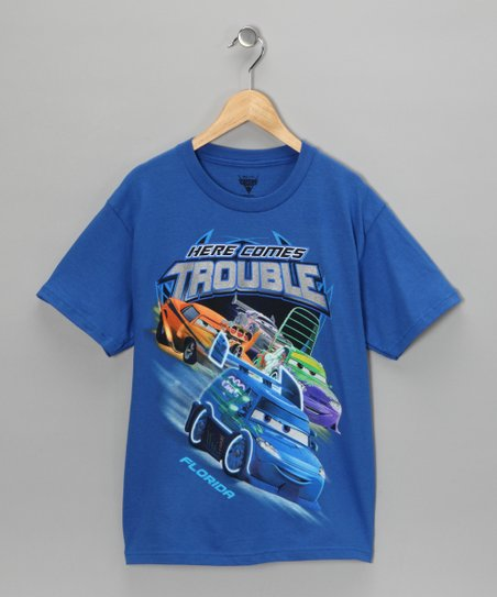 Royal Cars 'Here Comes Trouble' Tee - Boys