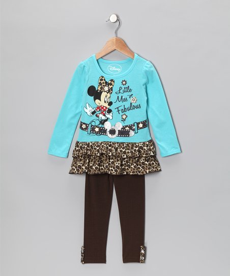 Aqua 'Miss Fabulous' Tunic & Leggings - Infant