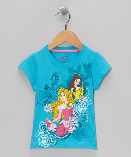 Aqua Princess Tee - Toddler