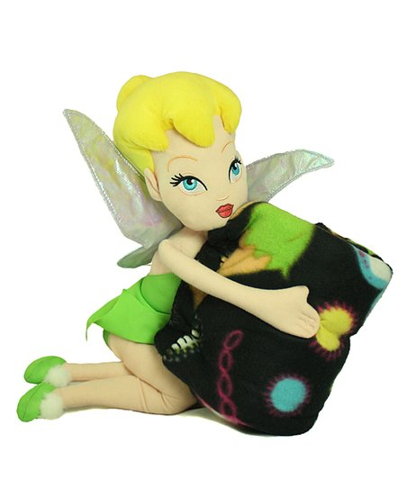 Tinker Bell Pillow Doll & Blanket