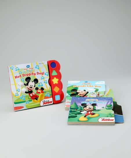 Mickey Mouse Songbook Hardcover Set
