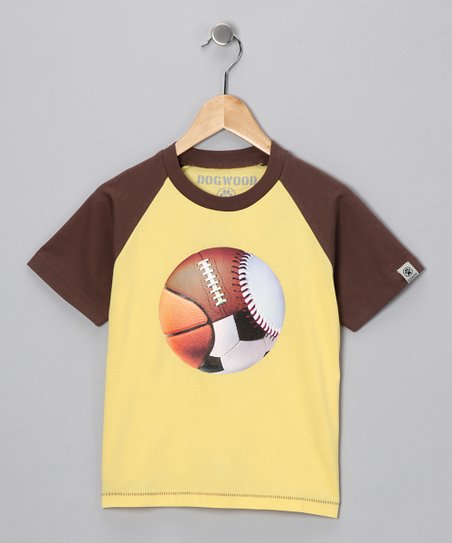 Dogwood Yellow All Ball Tee - Infant, Toddler & Boys