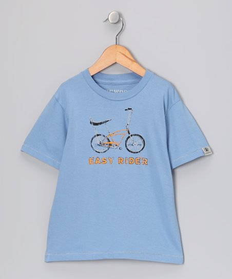 Chambray 'Easy Rider' Tee - Toddler & Boys