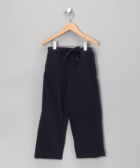 Navy College Sweatpants - Toddler & Boys