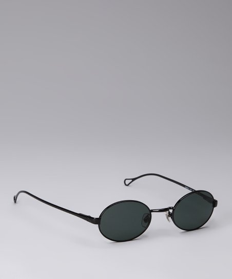 Black Circle Sunglasses