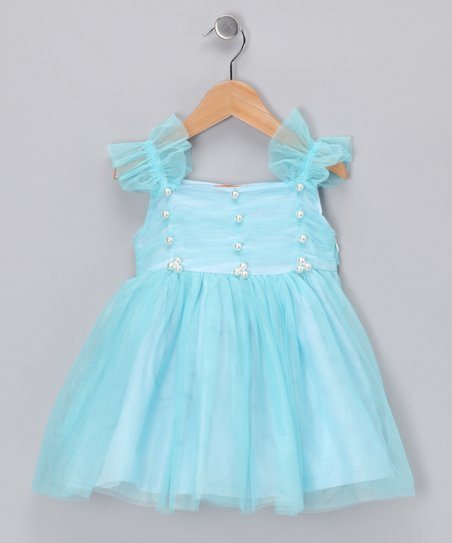 Blue Princess Dress - Girls