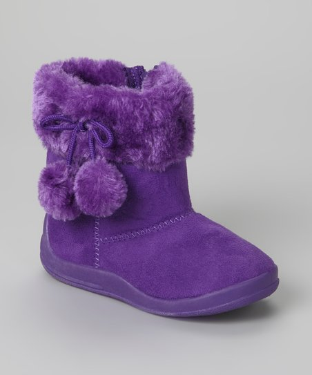 Purple Cutie Boot