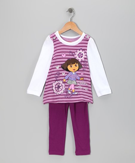 Purple Dora Tunic & Leggings - Infant & Girls