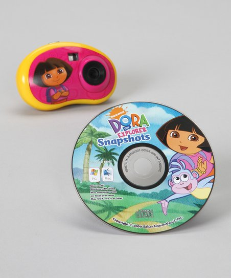 Dora the Explorer Talking Sound Digital Camera