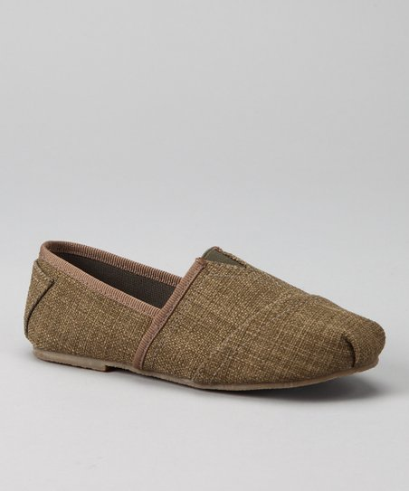 Khaki Estonia Slip-On Shoe