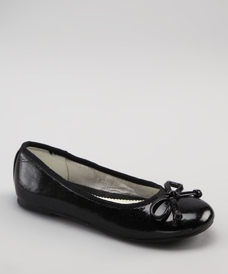 Dotty Shoes Black Everette Ballet Flat