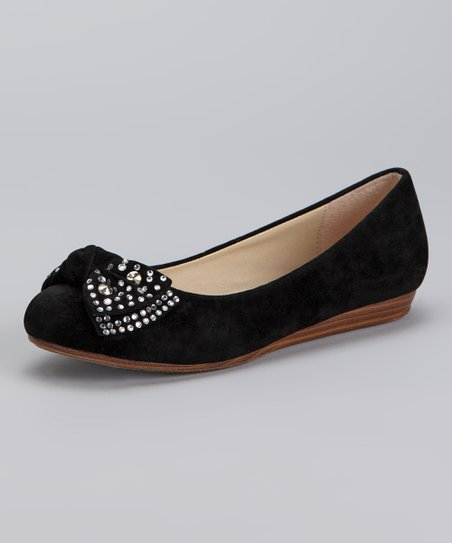Black Jerry Ballet Flat
