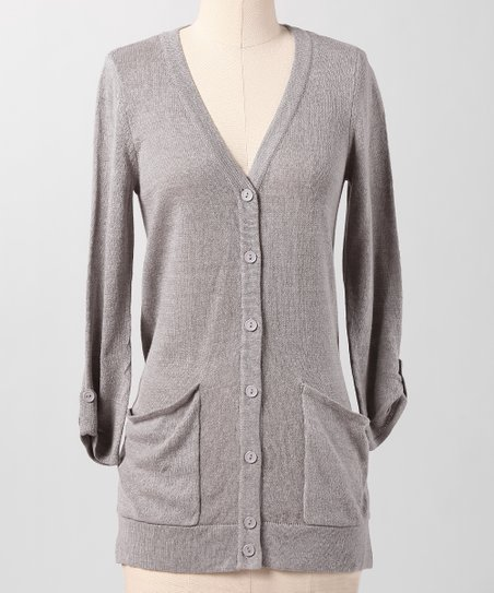 Heather Gray Water Cooler Cardigan