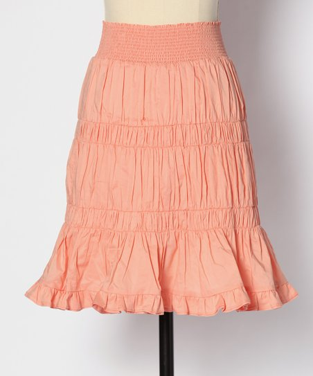 Salmon Bonfire Skirt