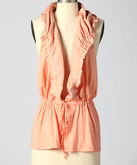 Salmon All Adrift Vest