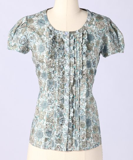 Dune Orchard Fields Button-Up