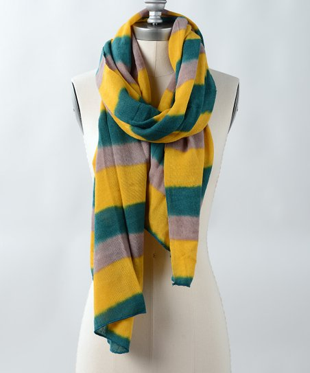 Yellow Riding Scarf