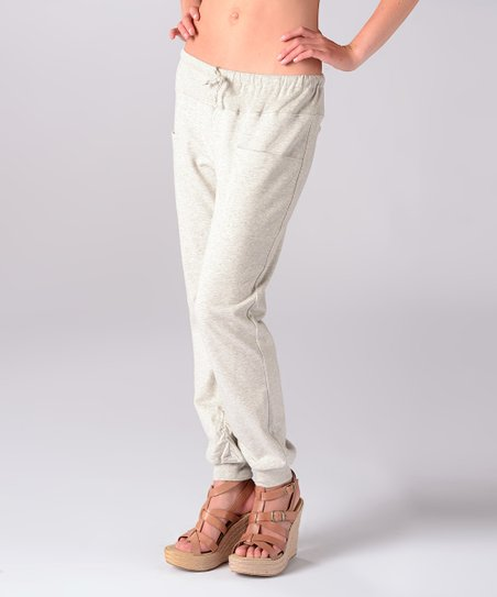 Heather Grey Early Morning Lounge Pants
