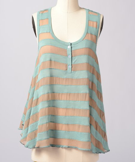 Mineral Blue Life Line Swing Top