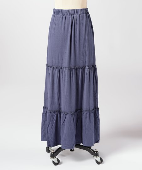 Blue Waters Edge Maxi Skirt