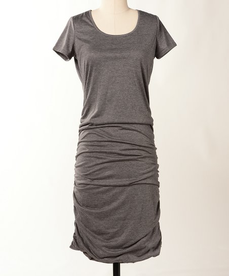 Heather Gray On Trend Dress