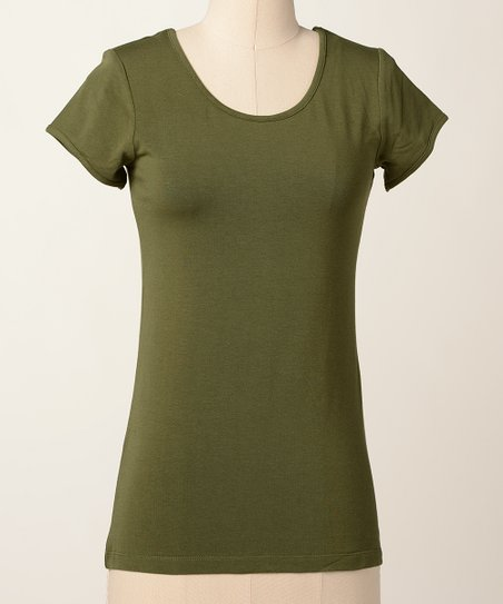 Chive Favorite Scoop Neck Top