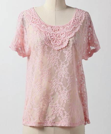 Creamy Pink Dreamy Days Top