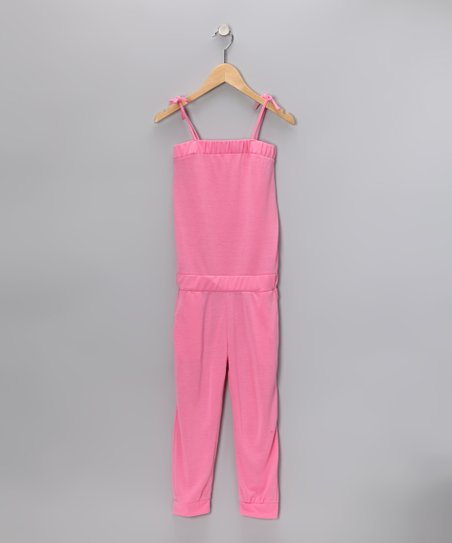 Sachet Pink Capri Playsuit - Girls