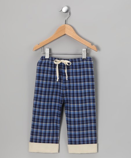 Blue Plaid Pants - Infant, Toddler &amp; Boys