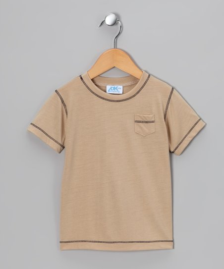 Tan Pocket Tee - Infant, Toddler &amp; Boys