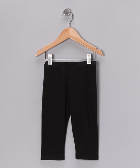 Black Leggings - Infant, Toddler & Kids