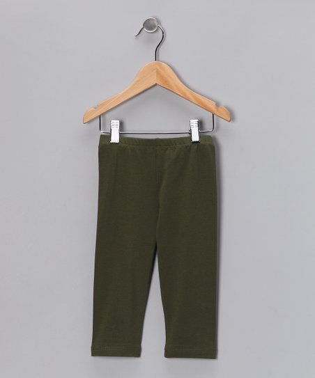 Olive Leggings - Infant, Toddler & Kids