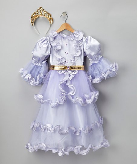 Lavender Heart Dress-Up Outfit - Toddler & Kids