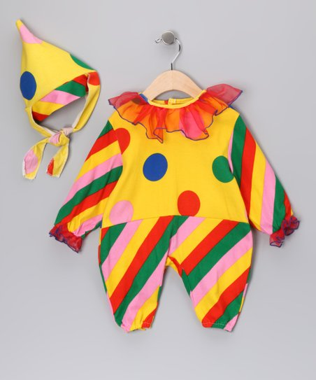 Yellow Circus Clown Dress-Up Set - Infant