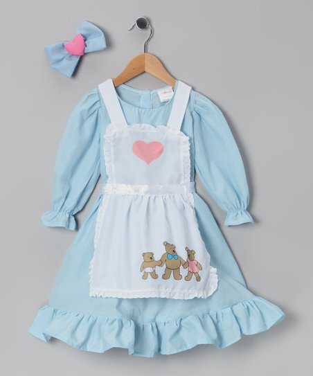 Blue Goldilocks Dress-Up Set - Toddler & Girls
