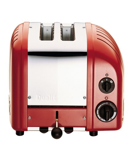Red Two-Slice Toaster