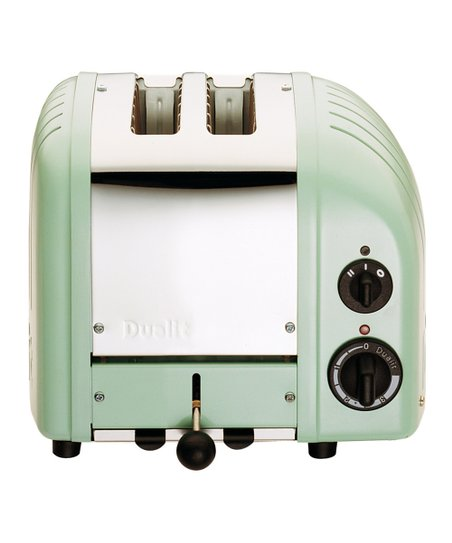 Mint Green Two-Slice Toaster