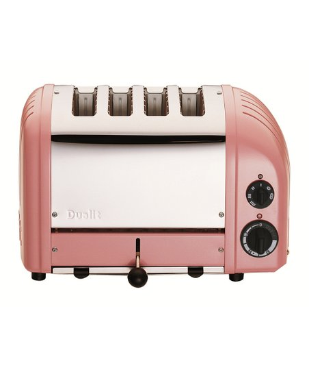 Petal Pink Four-Slice Toaster
