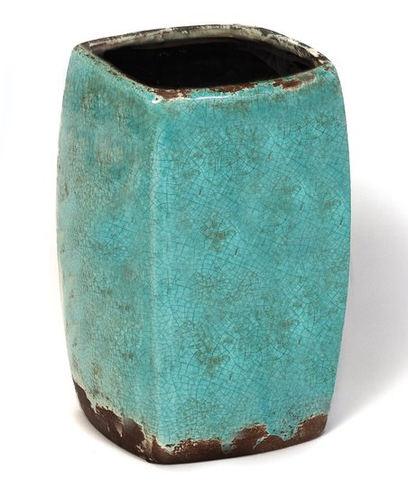 Antique Blue Ceramic Vase